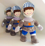Brave & fearless knight Sir Oakshotte-Knight soft toy-Storklings-Storklings