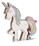 Unicorn shelfie rainbow-Wooden shelfies-Storklings-Storklings
