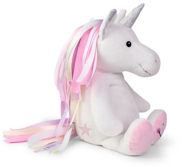 Ribbon Tail Unicorn Soft Toy-Soft Toys-Storklings-Storklings