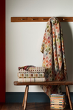 throw blankets made from wool in bright colours