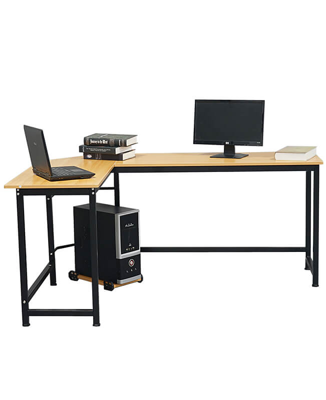 L-Shaped Computer Desk Laptop Corner Gaming Desk