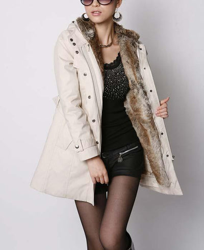 Thicken Fur Lined Jacket