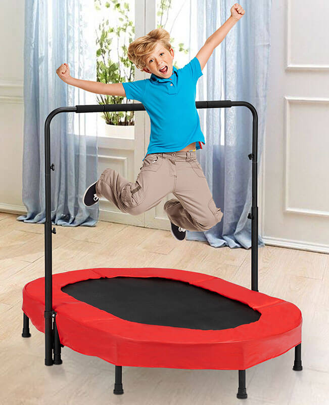 Small Trampoline Springs Jump Places For Kids