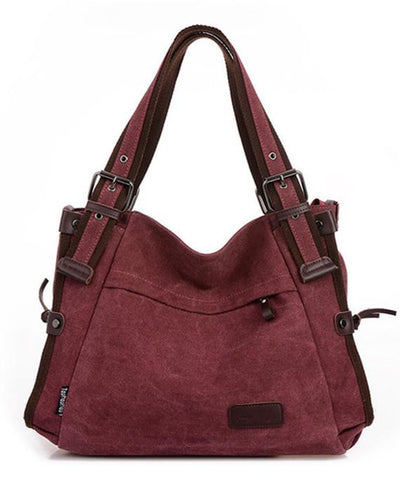 3 Colors Casual Canvas Shoulder Messenger Bags