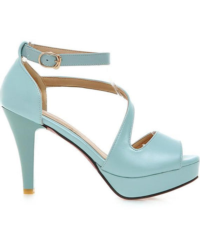 Sexy High Heel Prom Nightclub Peep Toe Sandals