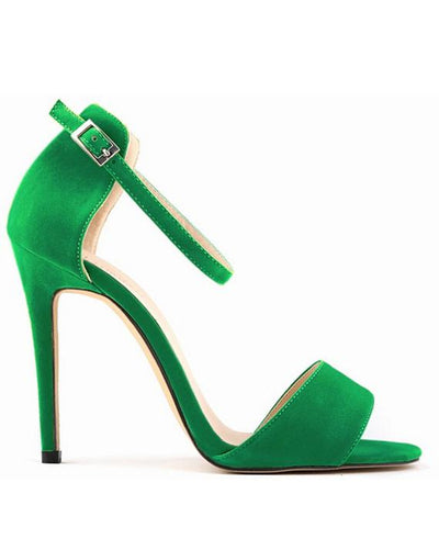 Princess High-heeled Shoes Open Toe Sandals Summer Dress Shoes