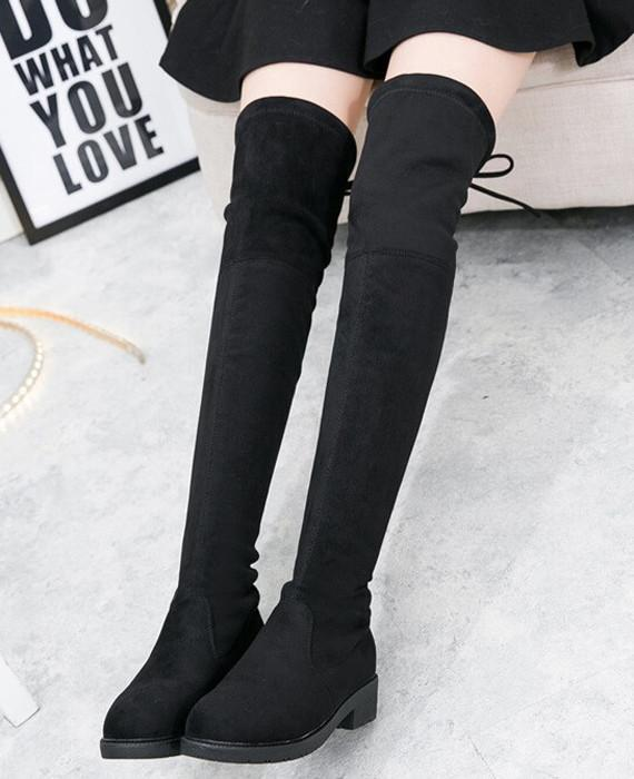 Autumn Winter Over-The-Knee Casual Boots