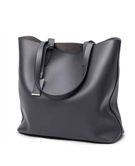 Large Capacity Luxury PU Totes Shoulder Handbag
