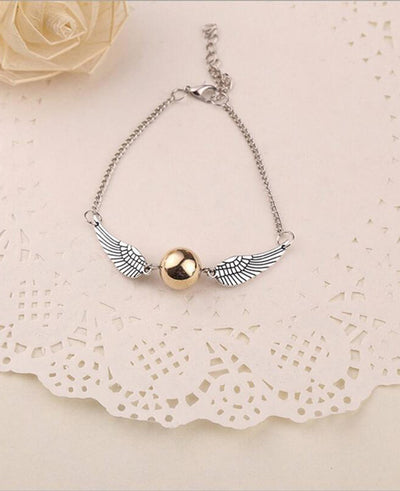 Deathly Hallows Golden Snitch Bracelets & Bangles