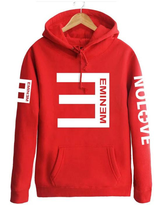 Letter Printed Hooded Sweatshirts