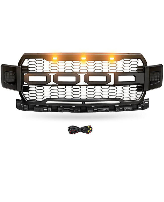 2018-2020 Ford F150 Grill with Raptor Style Mesh Grill
