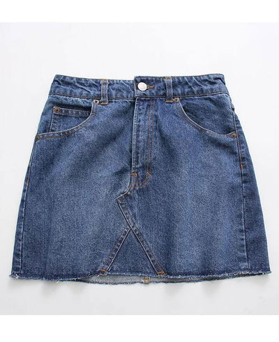 High Waist Denim Casual Pencil New Mini Skirt