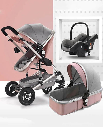 travel system pink