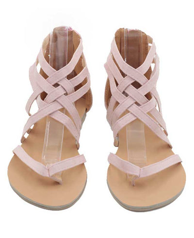 Summer Casual Rome Style Sandals Flats-2
