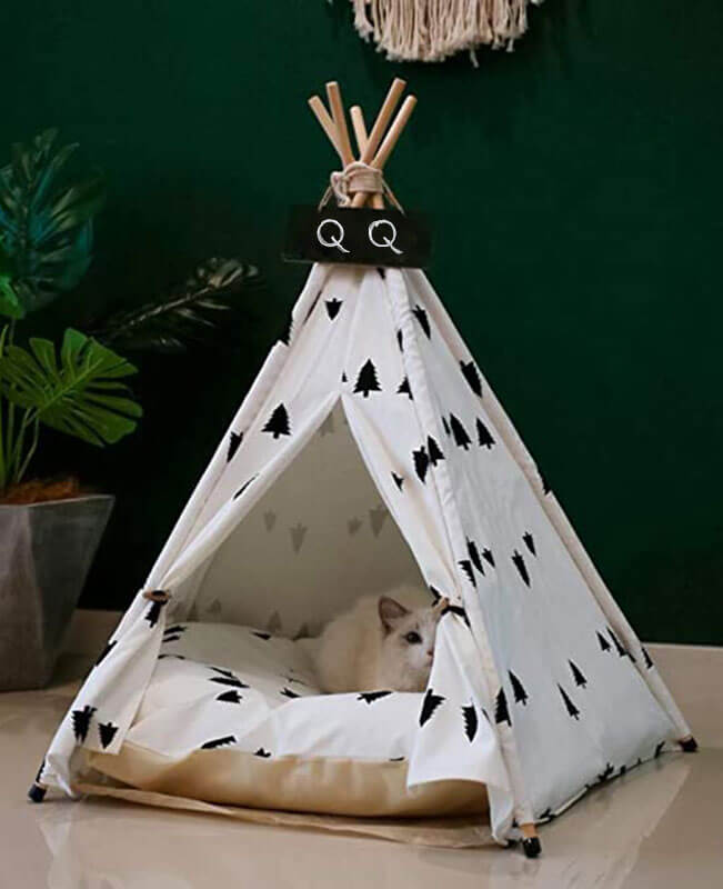Portable Pet Dog Tent Bed The Dog House Indoor