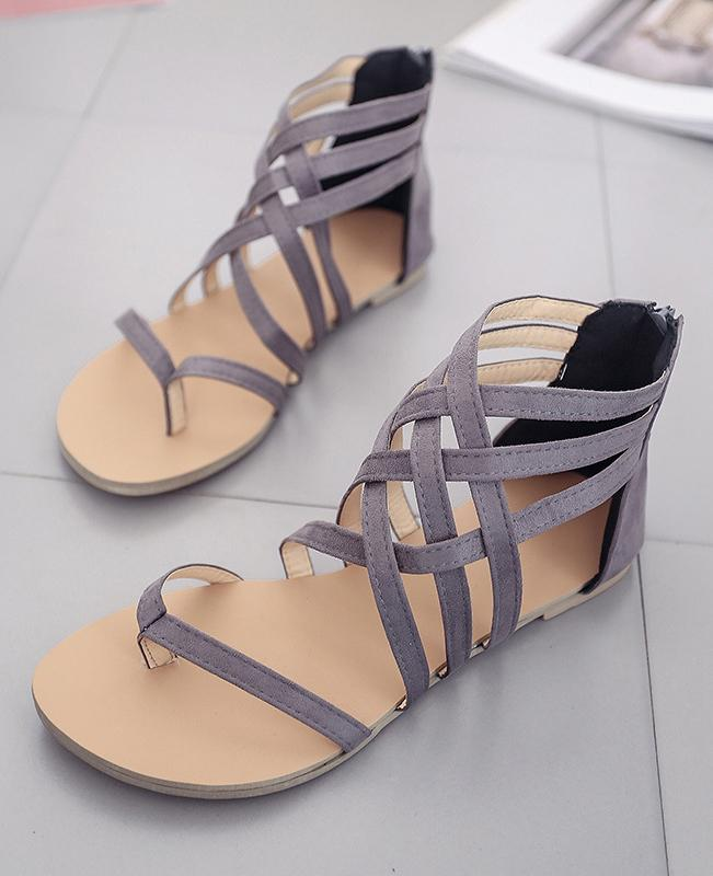 Summer Casual Rome Style Sandals Flats