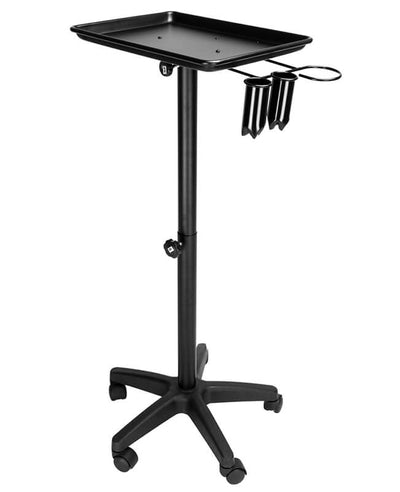 Adjustable Salon Tray on Wheels Hair Carts