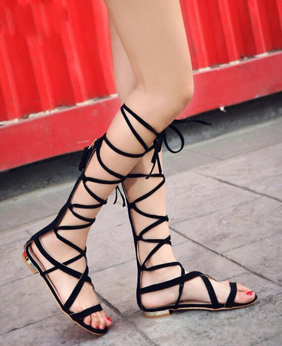 Lace Up Sandal Tie Up Sandals