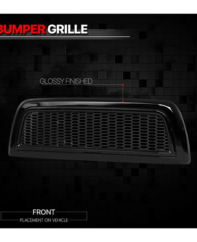 Black 2010-2018 Dodge Ram 2500/3500 Grill ABS Grill