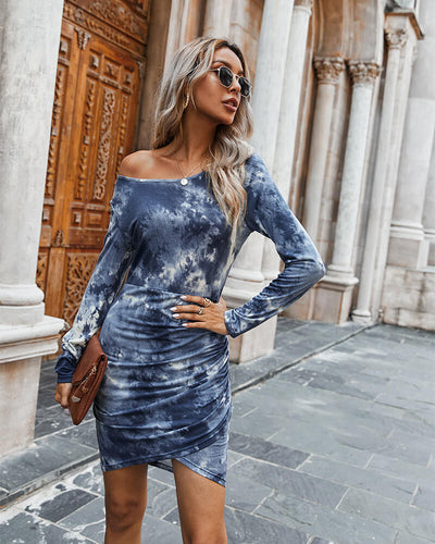 Bodycon Tie Dye Dress