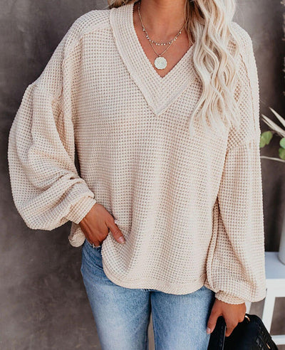 v neck sweater women