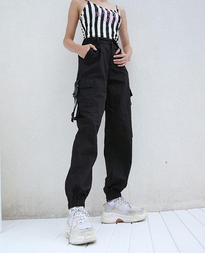 Cargo Pants for Women with pocket-7