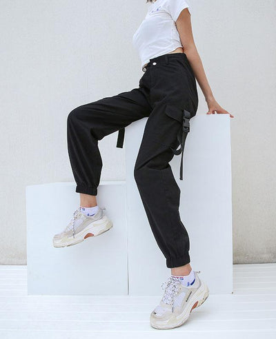 Cargo Pants for Women with pocket-6