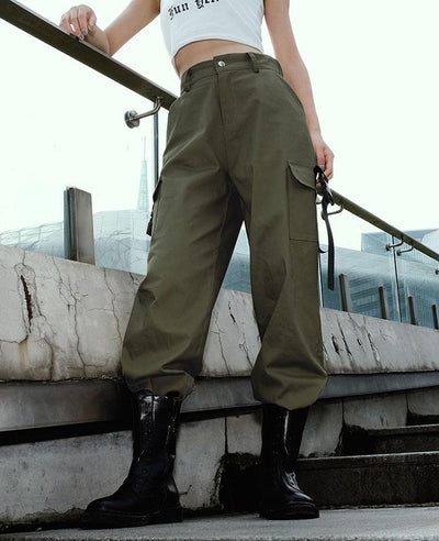 Cargo Pants for Women with pocket-2
