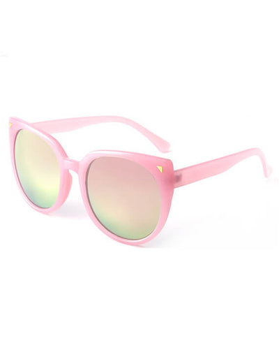 Cat Eye Sunglasses Mirror Shades Eyewear