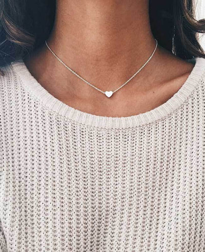Small Love Heart Necklace