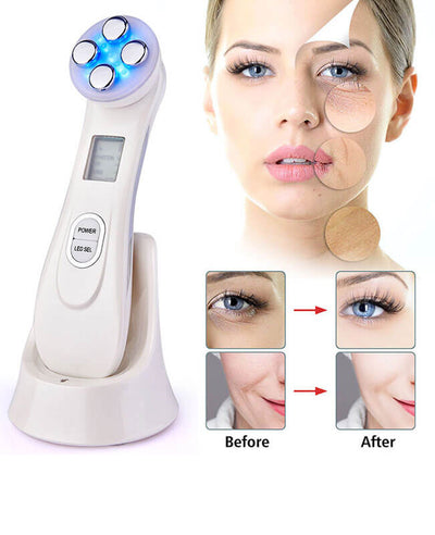EMS Skin Care Routine Wrinkle Remover Facial Massager