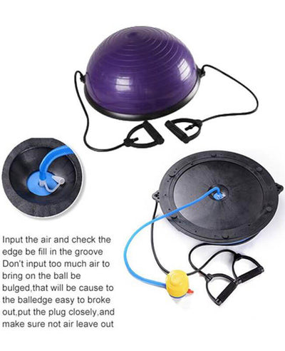 Half Balance Ball Workout Yoga Exercise Ball Trainer