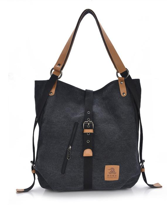 Casual Canvas Multi-functional Handbag Shoulder Bag