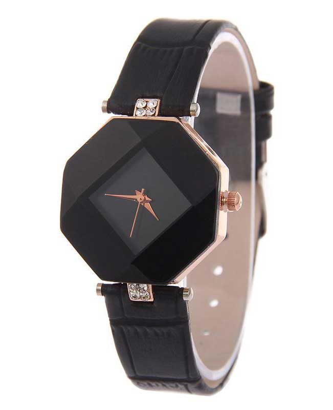 Geometry Crystal Ladies Fashion Watches