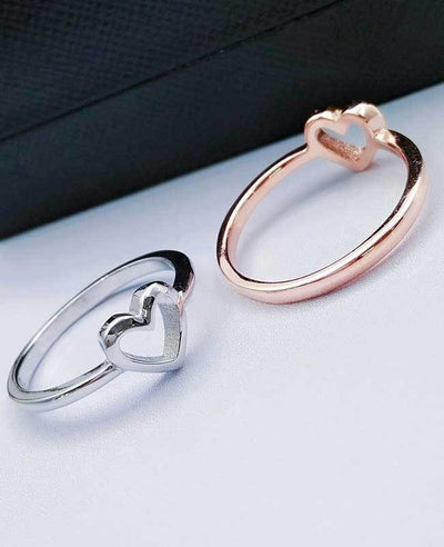 Heart Shaped Ring for Women