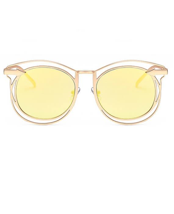Hollow Out Cat Eye Sunglasses