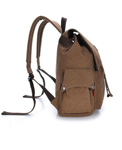 Large Capacity Travel Durable Canvas Backpacks