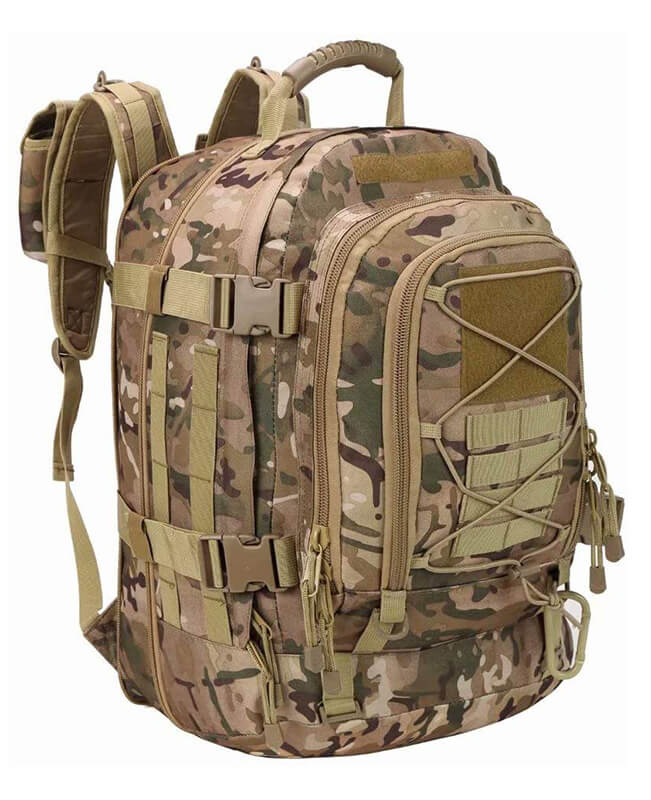 Large Military Hiking Backpack for Men and Women