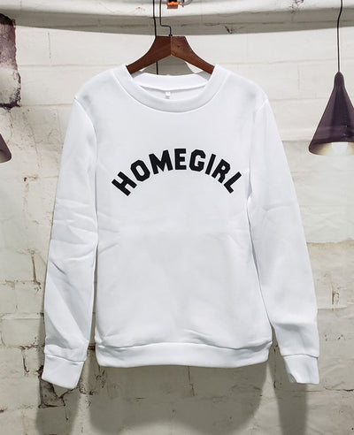 Letter Printed Ladies Sweatshirts