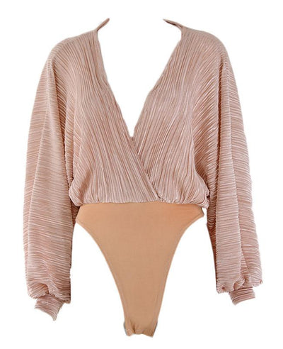 Long Sleeve Romper Sexy Jumpsuits for Women-11