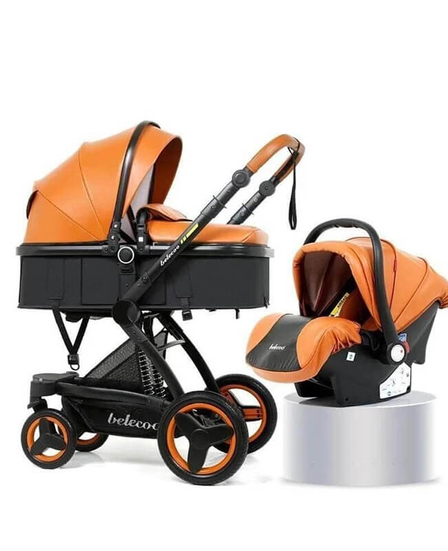 Multi-function 3 In 1 Stroller Convertible Stroller with Carrier