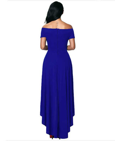 Off Shoulder Evening Dress-6