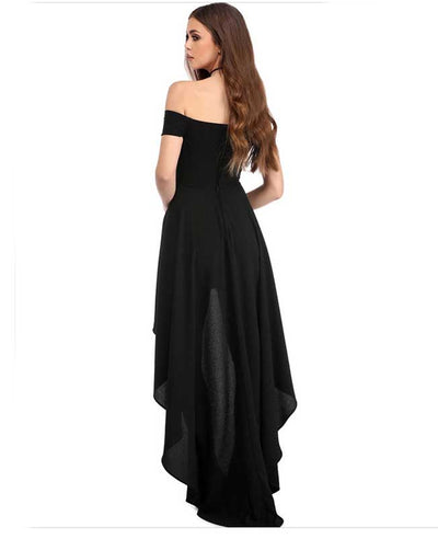 Off Shoulder Evening Dress-8