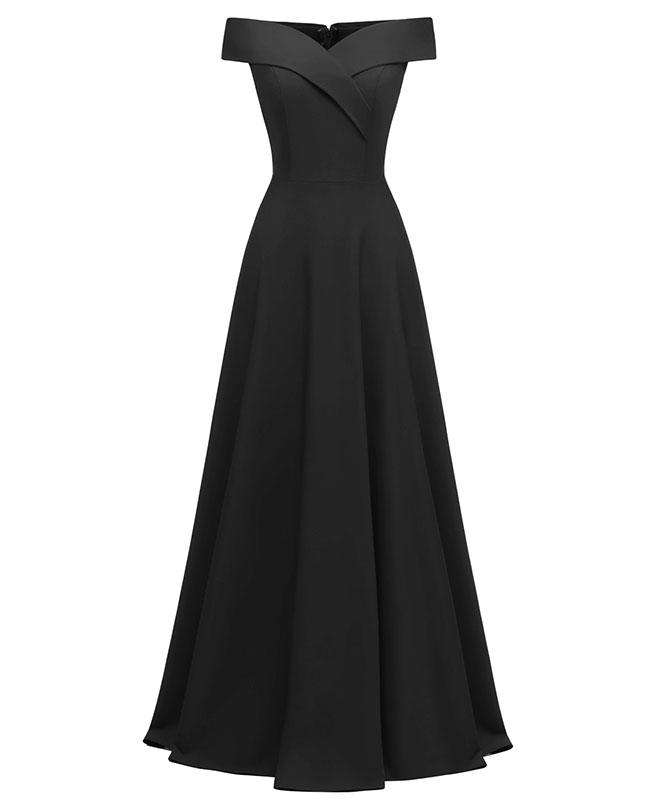 Off the Shoulder Sexy Evening Dresses