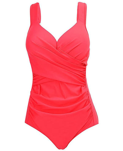 One-Piece V-neck Push Up Swimsuits