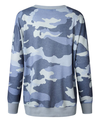 Casual Long Camouflage Hoodies-6