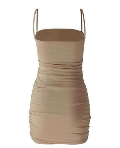 Bandage Sexy Bodycon Dress-9