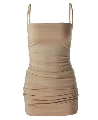 Bandage Sexy Bodycon Dress-5