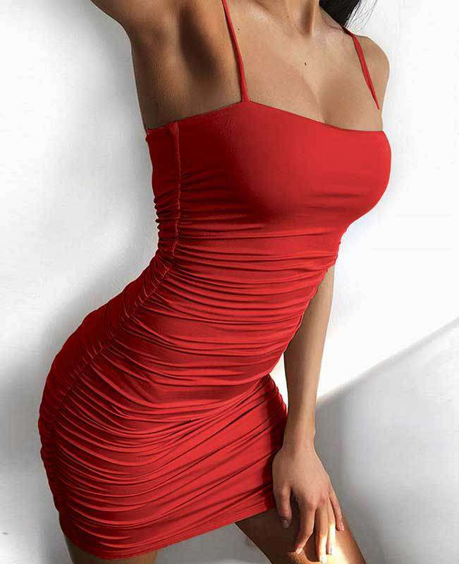 Bandage Sexy Bodycon Dress