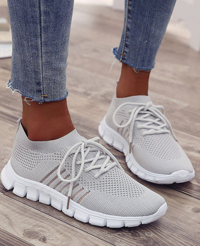 Breathable Mesh Casual Sneakers-1